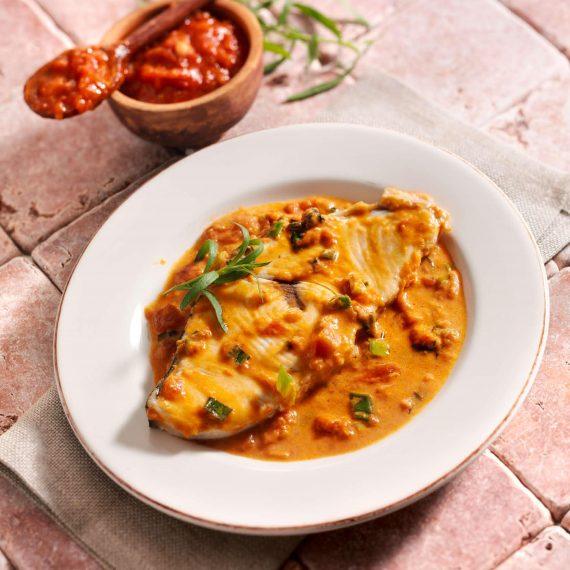 Rezept für Schwertfisch in Hermina Tomatensauce