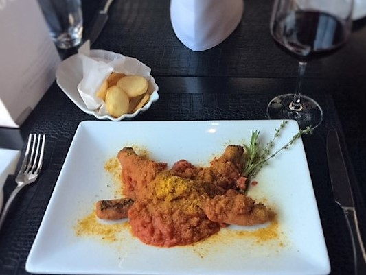 Currywurst mit Salsa Paradio Pikant Tomatensauce